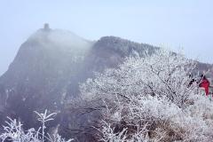 元旦成都周边可以看雪的地方