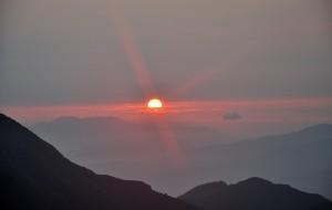 【浏阳图片】大围山 日出