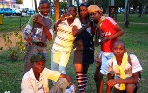 【莫桑比克图片】莫上桑(九):黑人的狂欢