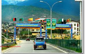 【不丹图片】最朴实最小巧的首都:廷布(Thimphu )