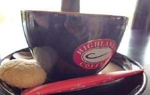 胡志明市美食-Highlands Coffee(Tax Trade Center)