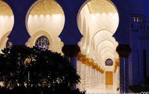 【阿布扎比图片】【阿布扎比】谢赫·扎耶德大清真寺