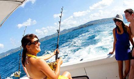 新西兰凯库拉海钓 出海抓龙虾钓鱼