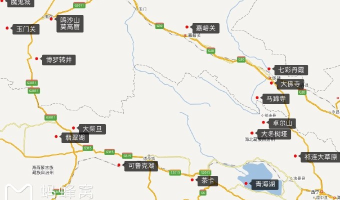 从武汉高铁至西宁租车,7天环青海,甘肃自驾,下面就正式进入这段旅程.