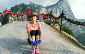 【华山图片】2016暑期携妻体验华山奇险绝美,16000字攻略+游记~长空栈道、南峰、苍龙岭、千尺幢、百尺峡