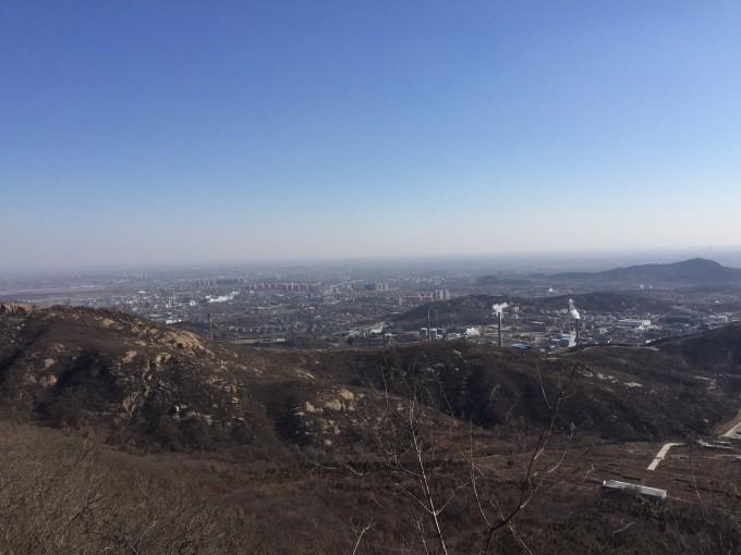 冬游金祖山风景区