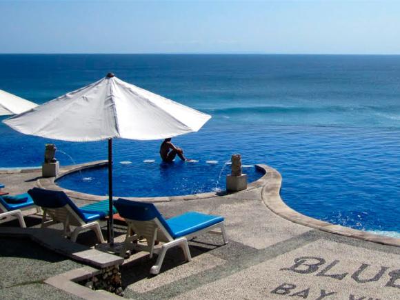 巴厘岛网红下午茶 blue point蓝点酒店下午茶/午餐套餐(可选普通泳池