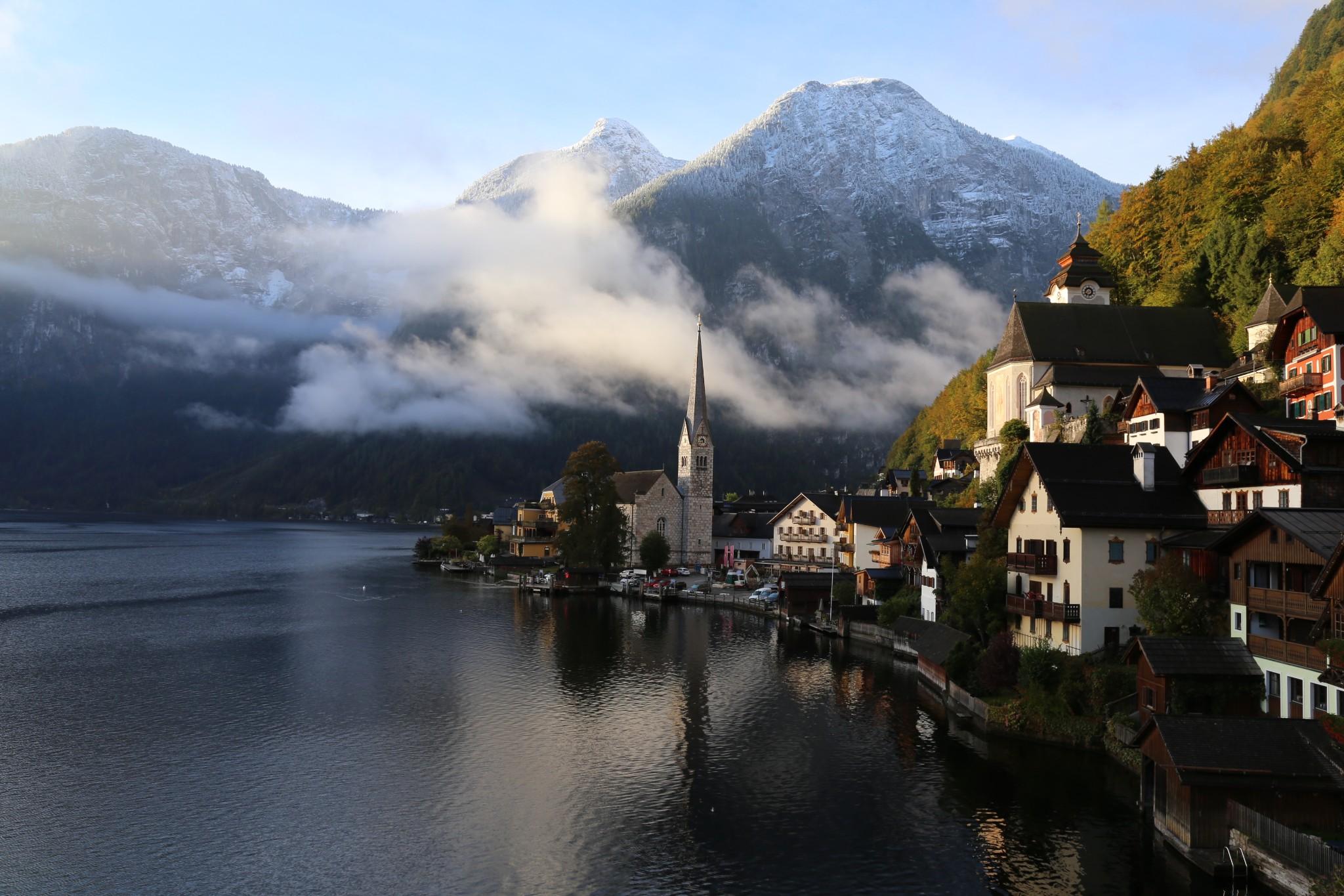 2016年在路上--金秋十月欧洲漫游十六天之奥地利哈尔施塔特_游记