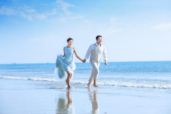 不去大连不去青岛也不去三亚,去北海拍婚纱照