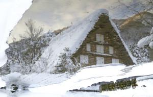 【白川乡图片】白色童话世界 - 白川乡合掌村