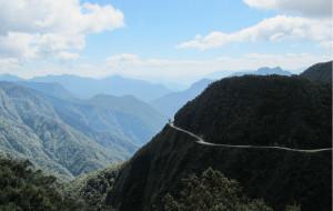 【玻利维亚图片】Bolivia Death Road (玻利维亚--死亡之路速降)