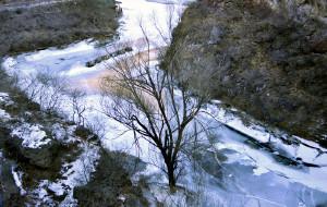 【双龙峡图片】北京门头沟双龙峡冰的世界晶莹剔透