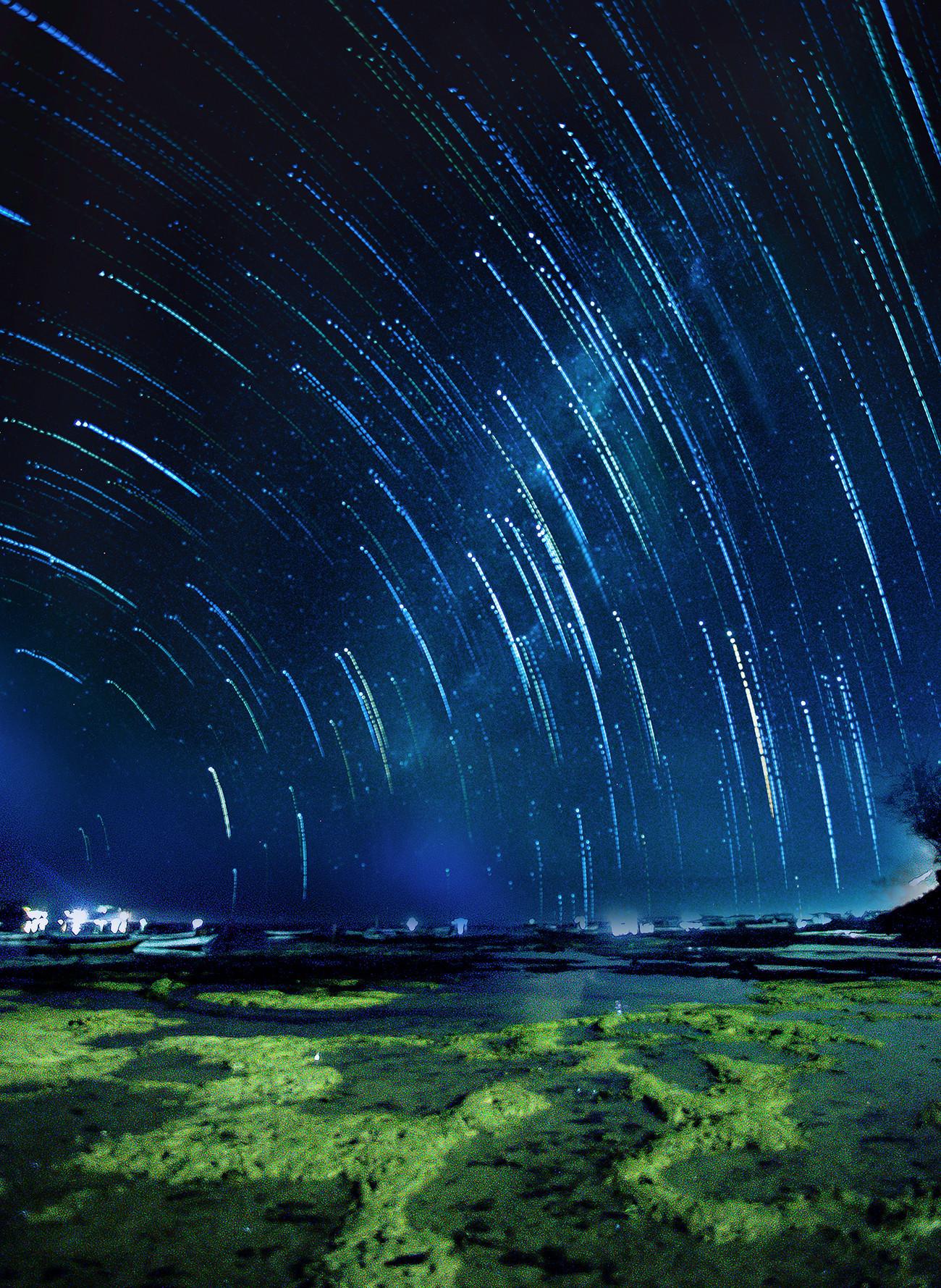 巴厘岛海滩星空之行