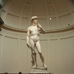 """世界美术学院之母,米开朗基罗著名雕塑作品""""大卫像""""的真品所在地 欧洲"""