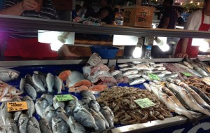 土耳其美食-费特希耶鱼市