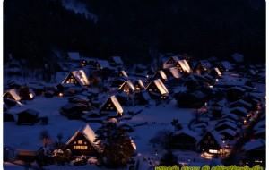 【白川乡图片】2月✈✈带着思念去了奈良, 京都,金泽,白川乡,高山 ,大阪