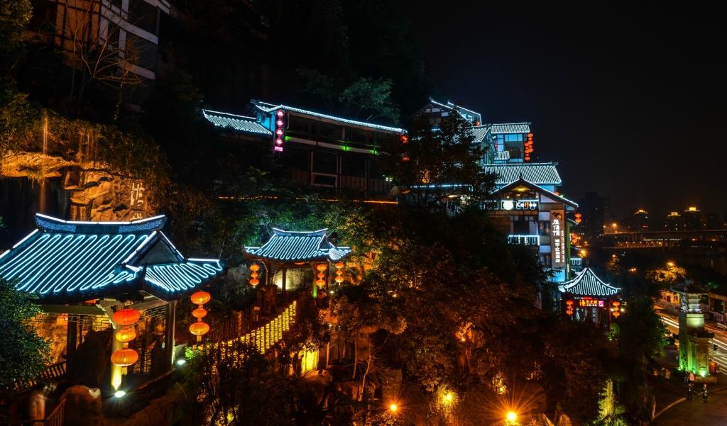 重庆特色建筑手绘