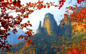 【平山图片】金秋十月赏红叶之恶石村