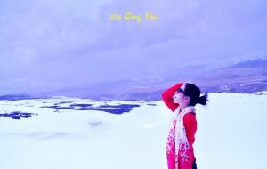 【茶卡盐湖图片】4月,青海,我踏雪而来!
