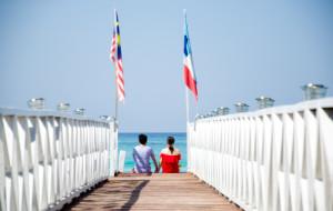 【亚庇图片】飘落大洋边际(马来西亚吉隆坡,沙巴亚庇,美人鱼岛,蛇岛,白沙滩,迪加岛)