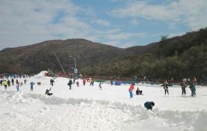 【浏阳图片】大围山滑雪初体验