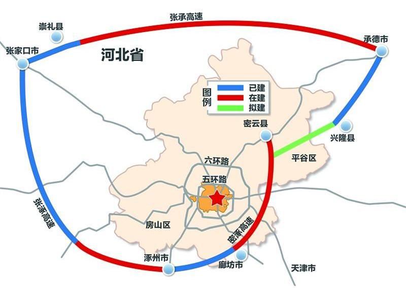 北京大外环高速公路,北京七环最新规划图图片