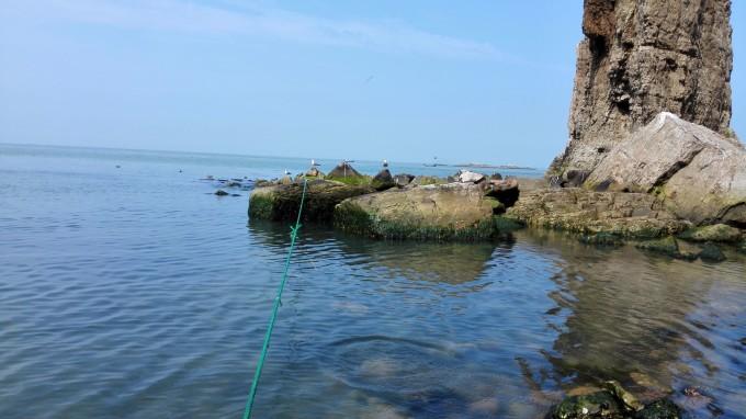 月牙湾又称半月湾,坐落于长岛县北长山岛最北端,自然形成长约2000米的