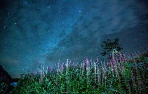 【彭州图片】九峰山——一场夜色,一场星空