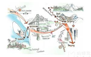 【班夫国家公园图片】淡季也风光:温哥华及班夫国家公园10月非自驾游