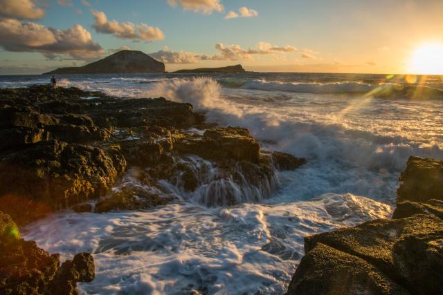 [当地攻略】欧胡岛最美观日出地点 正确的打开方式在这里_游记
