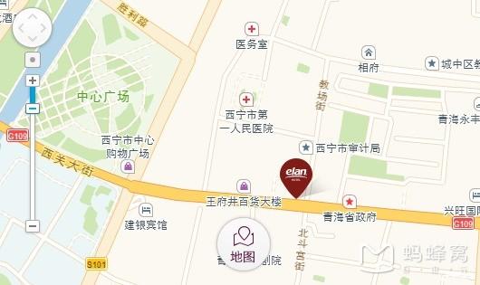 1,怡莱西宁西大街酒店:青海省西宁市城中区西大街18号,105元*2(1间,3