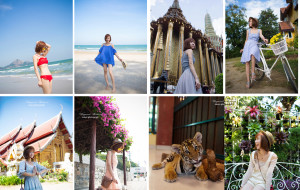 【华欣图片】「一個人旅行,第3年」泰国 华欣 曼谷 清迈 拜县