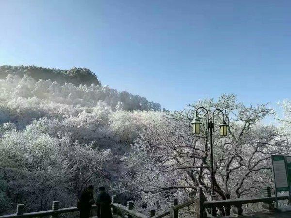 最美黄山冬景图片