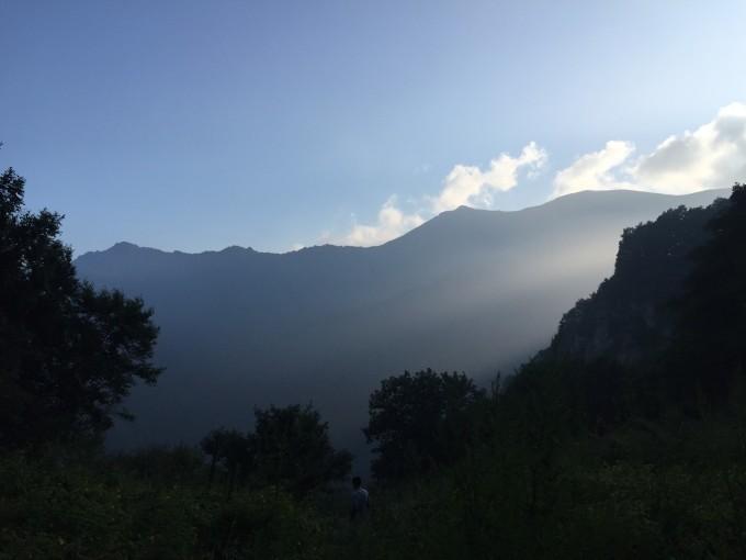 北京延庆玉渡山风景区大圈徒步
