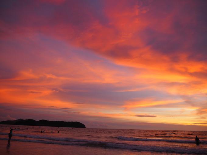 微信头像风景大海太阳