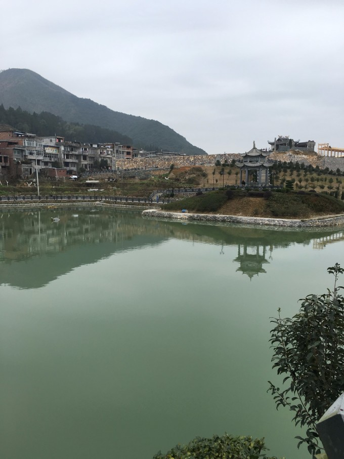 浙江温州小镇风景