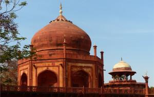 【印度图片】美丽哀伤之城--印度阿格拉