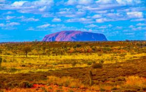 【乌鲁鲁-卡塔曲塔国家公园图片】澳大利亚红色中心——乌卢鲁巨石(Uluru) 三天荒野求生