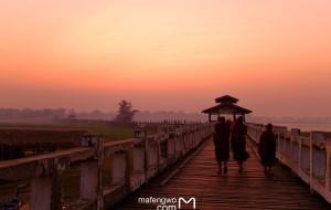 【茵莱湖图片】我想和你去看一场震撼生命的日出日落