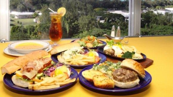 塞班岛360旋转餐厅午餐定食套餐(含酒店接送)